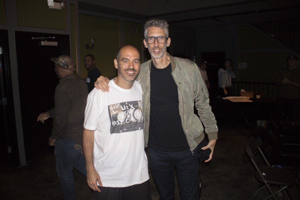Bobbito and DJ Stretch Armstrong