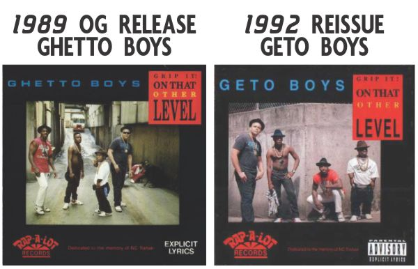 Ghetto vs Geto