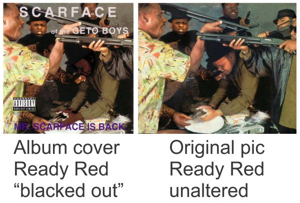 Ready Red on Scarface Album
