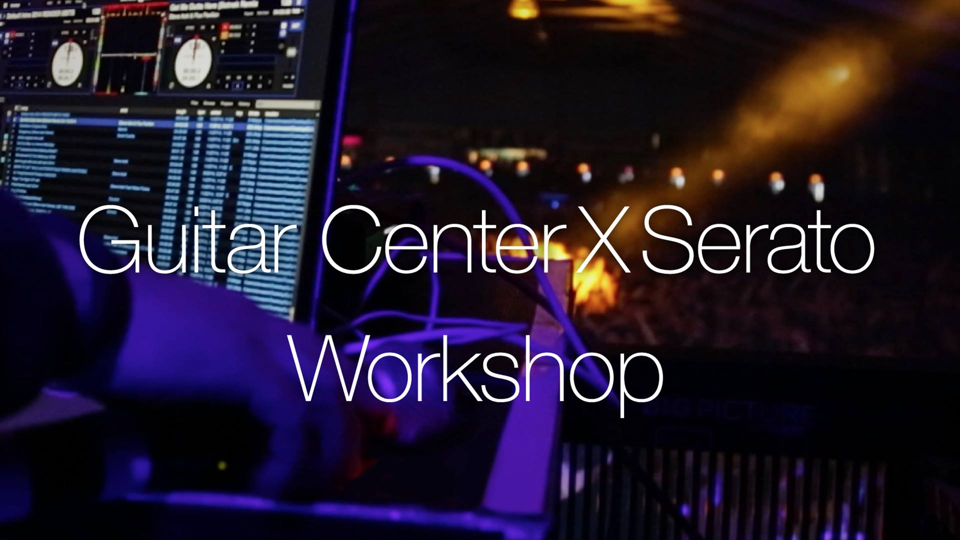friday 11 6 15 guitar center x serato la workshop w dj babu beatjunkies. Black Bedroom Furniture Sets. Home Design Ideas