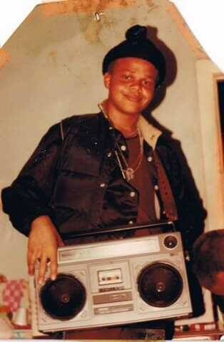 DJ Ready Red keeping it real in 1986